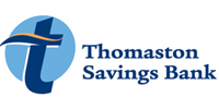 Thomaston Savings Bank logo 200x100